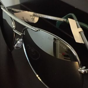 Juicy Couture Aviators mirror silver New